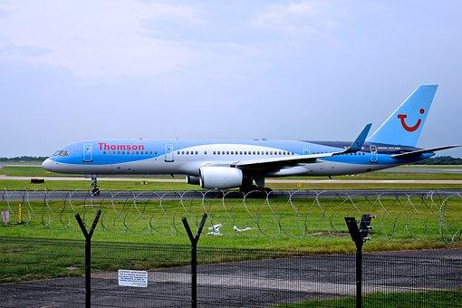Airport, Airplane, Travel, Flight, Vacation, Sky, Jet