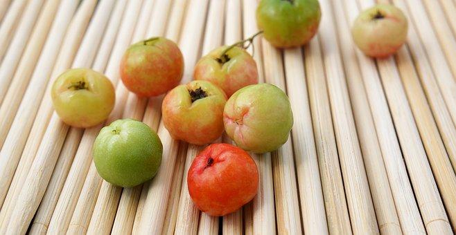 Food, The Turkish Cherry, Fruits, Vietnam, đủa Bamboo
