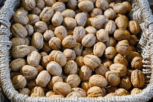 Walnut, Delicious, Autumn, Nuts, Healthy, Food