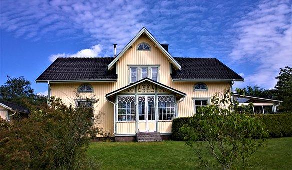 House, Villa, Wooden House, Architecture