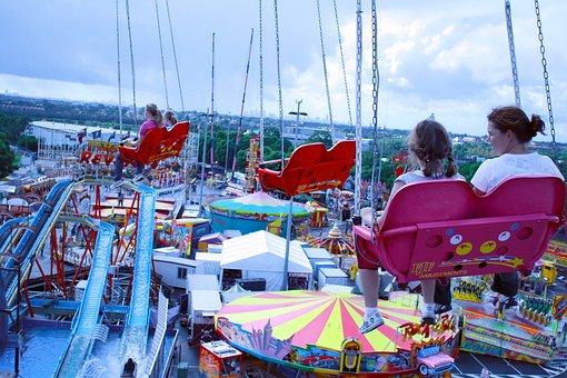 Carnival, Carnival Ride, Fair, Fun, Amusement, Park