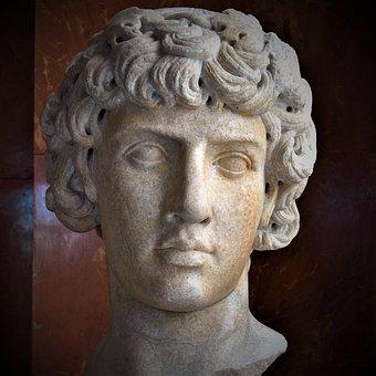 Ancient Rome, Head, Sculpture, Antique, Marble, Louvre