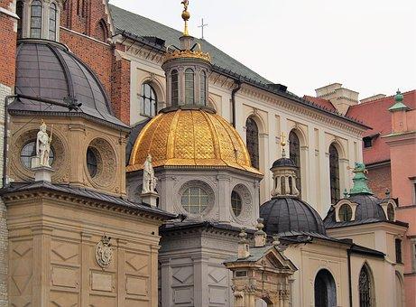 Castle, Royal, Wawel, Architecture, Poland, Tourism