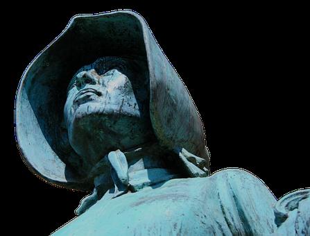 Woman, Statue, Bronze, Sculpture, Beautiful Woman