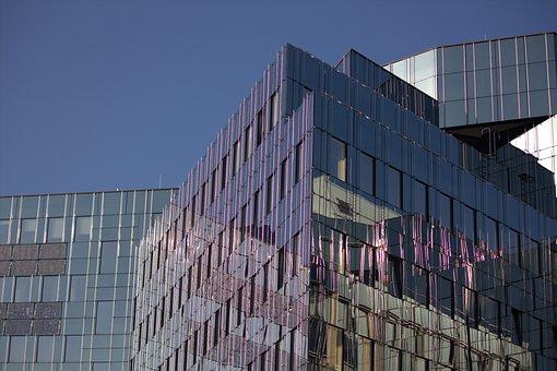 Architecture, Berlin, Office, Building, Capital, Facade