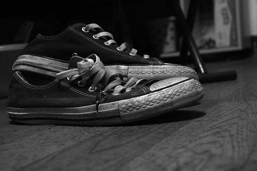 Black And White, Shoe, Obsolete