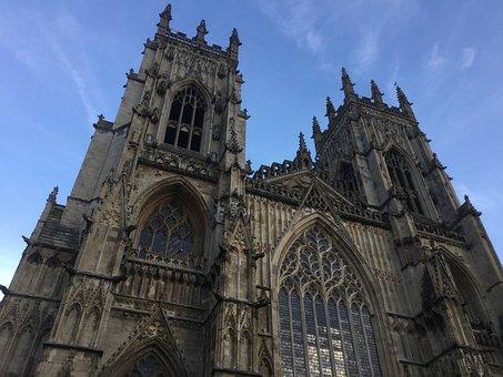 York Minster, Cathedral, York, England, United Kingdom