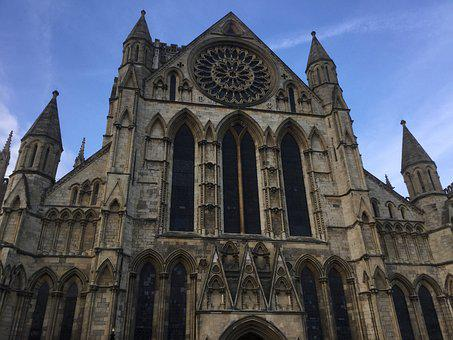 York Minster, Cathedral, York, England, Architecture
