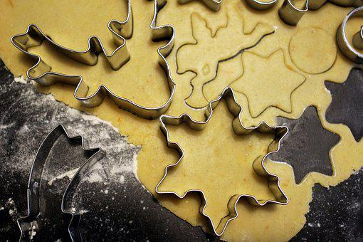 Cookie, Cookie Cutter, Christmas Baking, Christmas