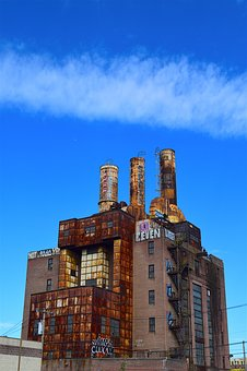 Factory, Industrial, Rusty, Manufacturing, Urban, Decay