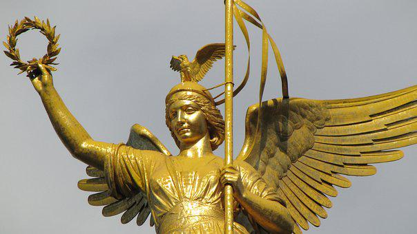Siegessäule, Berlin, Gold Else, Angel, Capital