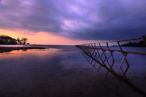 Knife, Phu Quoc, Vietnam, Sunset, Dawn, Pier