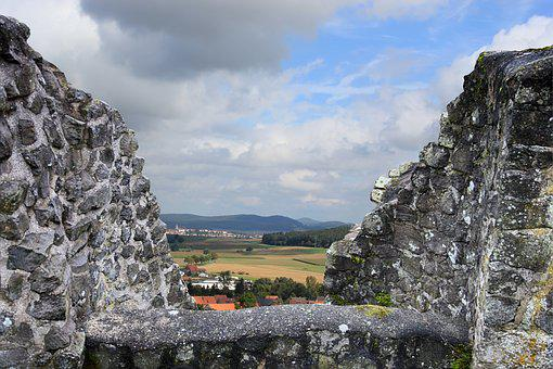 Castle, Wall, Castle Wall, Outlook, Middle Ages