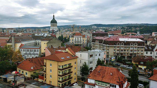 Cluj, Romania, City, Transylvania, European, Medieval