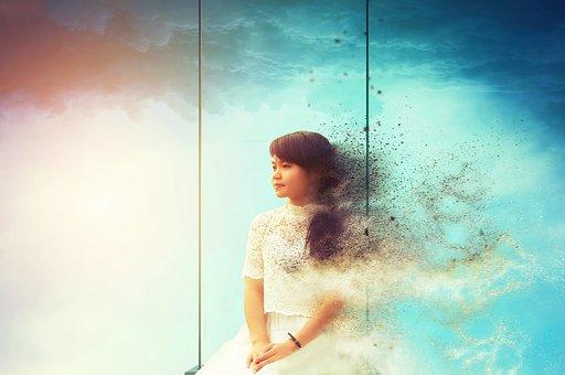 Girl, Thinking, Exploring