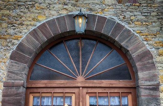 Window, Round Arch, Architecture, Historically