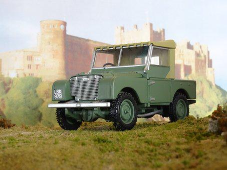 Land Rover, Series I, 1948, Model Car, Oldtimer