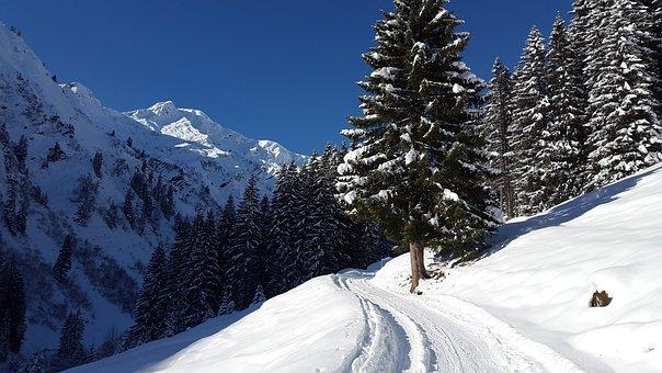 Kleinwalsertal, Winter, Allgäu, Alpine, Away