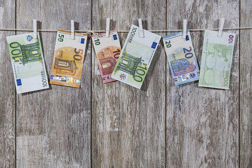 Money, Bank Note, Banknote, Euro, Gift, Give, Leash