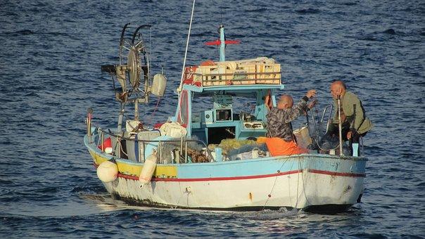 Fisherman, Fishing, Traditional, Mediterranean, Cyprus