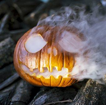 Halloween, Spooky, Jack-o-lantern, Pumpkin, Autumn