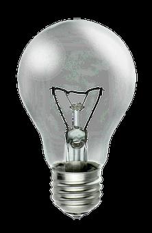 Light Bulb, Isolated, Transparent, Light, Lantern