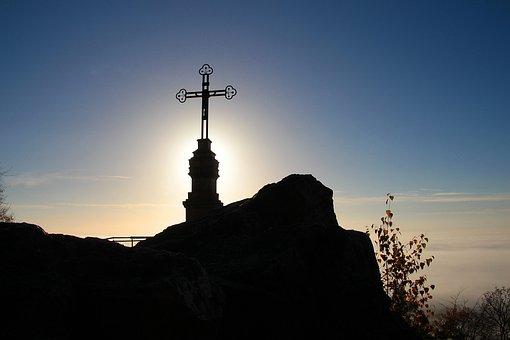 Summit Cross, Rock Summit, Litermont, Saarland, Summit