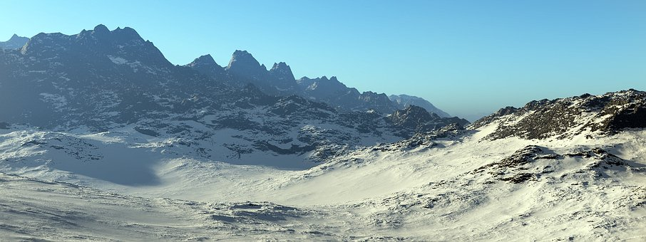 Mountains, Snow, Ice, Winter, Alpine, Snow Landscape