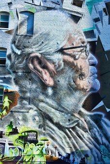 Street Art, City, Los Angeles, Street, Angeles, Los