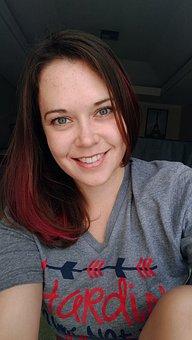 Woman, Beautiful, Pink Hair, Fantasy Hair, Galaxy Hair