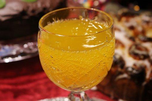 Drink, Tipple, Glass, Thirst, Yellow Jaffa, Lemonade