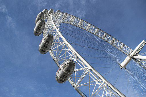 London Eye, London, City, England, Capital, Britain