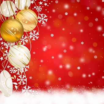 Background Christmas, Ornaments, Congratulation