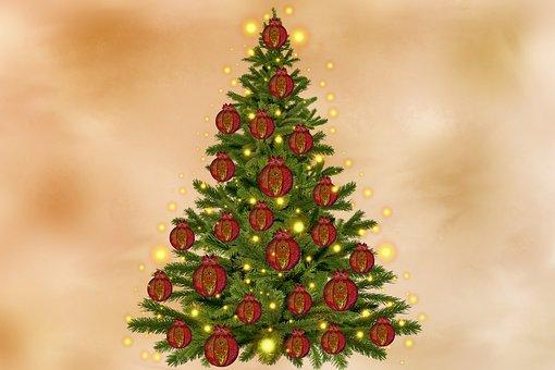 Christmas, Festival, Christmas Tree, Decoration