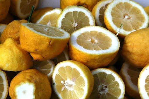 Lemon, Food, Fresh, Yellow, Lemonade, Juice, Healthy