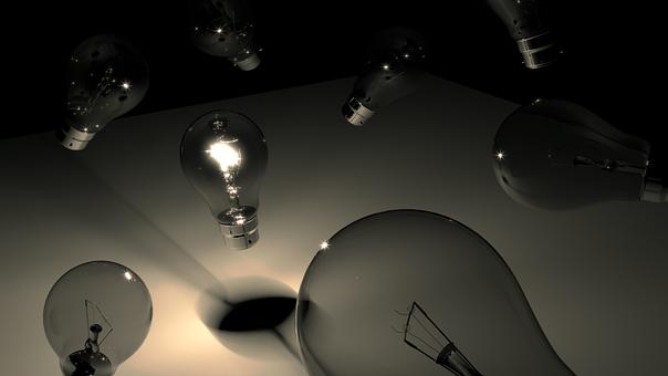 Lamp, Lightbulb, 3d, Electricity, Idea, Electrical