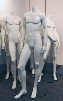 Mannequin, Standing, Display Dummy, Male, Masculine