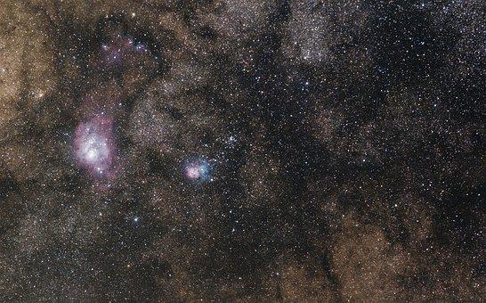 Milky Way, Wide-field, Starry Sky, Night Sky, Astronomy