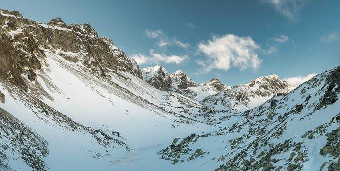 Vysoké Tatry, Tatry, Country, Nature, Winter, Snow, Ice
