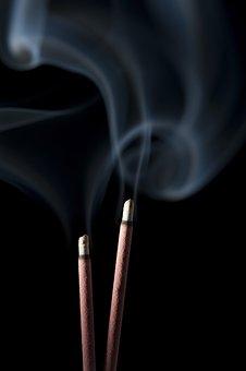Smoke, Holly, Black Background