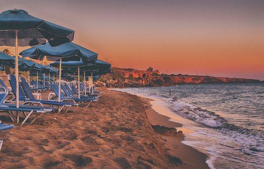 Seascape, Island, Sunset, Kefalonia, Greece