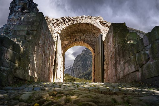 Prka, The Ruins Of The, Mountains, Stones, Roman