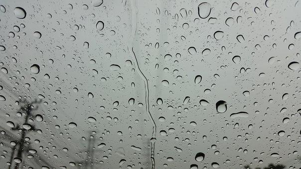 Rain, Raining, Water, Wet, Drop, Bubble, Droplet, Clean