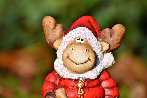 Nicholas, Santa Claus, Figure, Christmas Figure, Deco