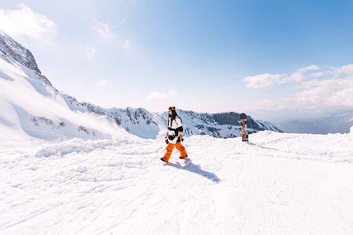 Krasnaya Polyana, Gorky-gorod, Girl, Snowboard