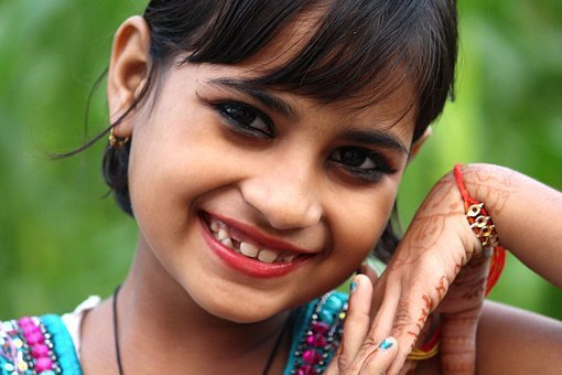 Indian Girl, Happy Baby, Happy Child, Smile Baby, Baby