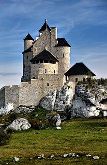 Castle, Bobolice, Poland, Monument, The Museum, History