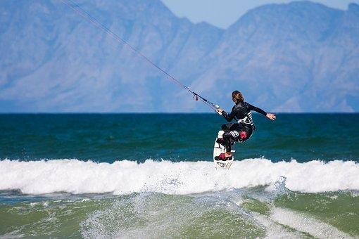 Action, Board, Cape Town, False Bay, Kite