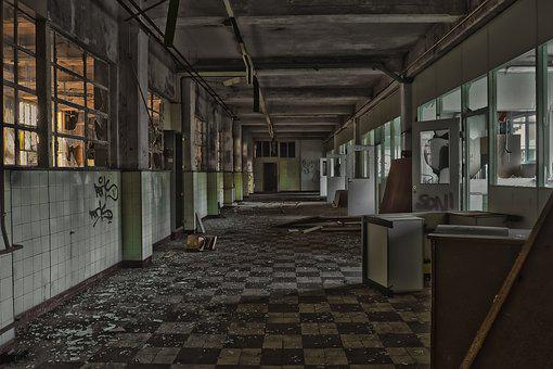 Lost Places, Factory, Old Factory, Pforphoto, Lapsed