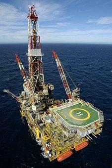 Oil, Platform, Mar